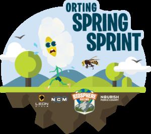 Orting Spring Sprint Logo